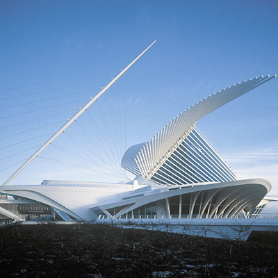 calatrava. at the Calatrava bridge in