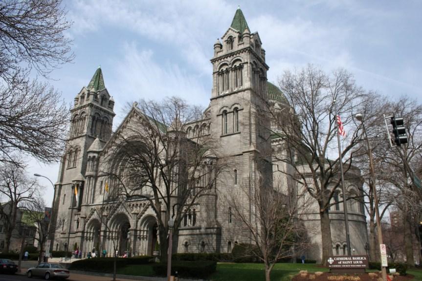 stl cathedral  basilica