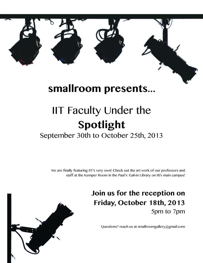 Faculty Show Poster